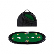 Tavola Poker Texas Hold'Em Bordo Pelle
