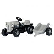 014941 Trattore a pedali rollykid little grey fergie