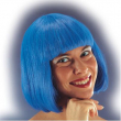 "Parrucca ""Pin up"" blu in busta"