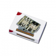 Dal Negro - Backgammon valigetta in pelle