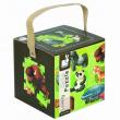 Cubo puzzle 36 pezzi animali giungla
