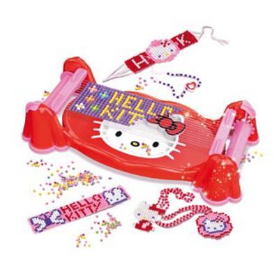 TELAIO DI PERLINE HELLO KITTY