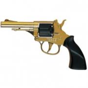 "Pistola ""Pecos"" oro 8 colpi per bambini"