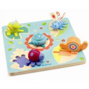 Puzzle La tartaruga e gli amici 3D Djeco