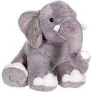 Elefante grigio in peluche 60cm
