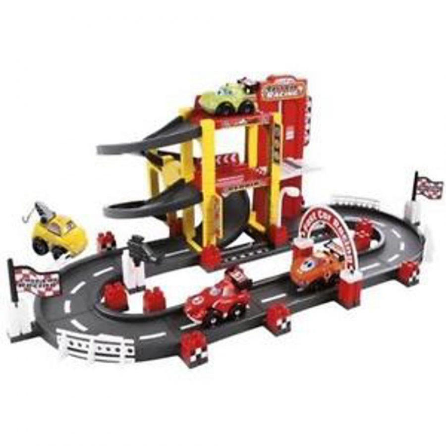 Garage f1 con circuito giochi giocattoli for Piani di garage gratuiti con lista dei materiali