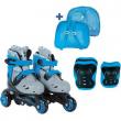 Pattini roller evolutivi 27-30 azzurri
