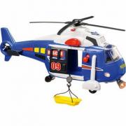 Elicottero blu suoni e luci
