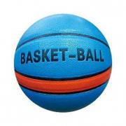 Pallone da basket blu