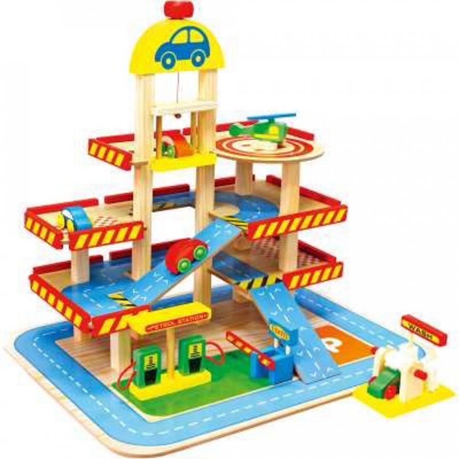 Il mio garage in legno giochi giocattoli for Progetta il mio garage