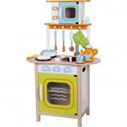Cucina del piccolo chef in legno