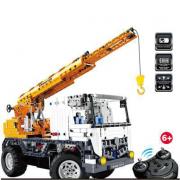 Camion gru cantiere da costruire radiocomandato