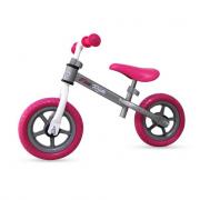 Bici pedagogica senza pedali rosa