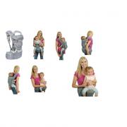 Marsupio per bambini trasformabile 8 in1 Freeon