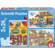 Puzzle pompieri 3x24 pezzi