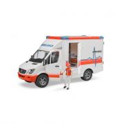 Ambulanza mercedes benz sprinter con guidatore