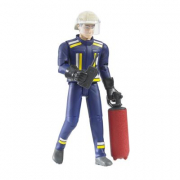 BWorld 60100 - Vigile del fuoco con elmetto e accessori