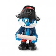 Capitan Grande Puffo pirata cm. 6