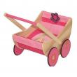 Carrozzina in legno per bambole