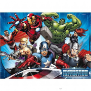 Puzzle 60 pezzi pavimento Avengers