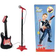 Chitarra elettronica con microfono