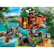 Playmobil  5557 la casa sull'albero con ponte sospeso