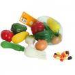 Frutta e verdura in plastica