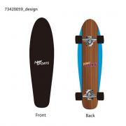 Skateboard cruiser board