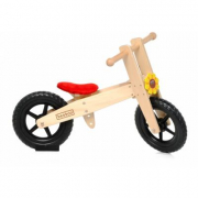 Bici pedagogica in legno Beeboo con fiore