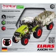 Trattore Claas Axion 850 1/64 RC micro kit meccano