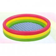 Piscina Multicolor 3 tubi 147X33 cm.