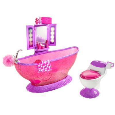 Barbie mini arredamenti Vasca da bagno e WC - Giochi - Giocattoli