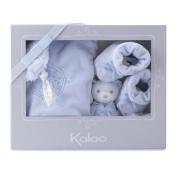 Confezione regalo 3 pezzi kaloo perle azzurro