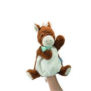 Doudou cavallo mocha marionetta