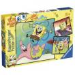 "Puzzle ""Spongebob"" 3x49 pezzi"