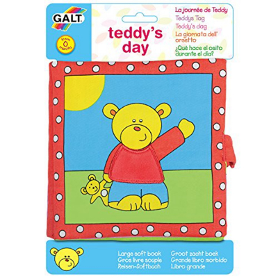 Grande libro in stoffa dell'orsetto
