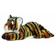 Tigre in peluche 30cm sdraiata