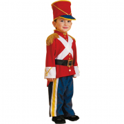 Soldatino costume 2/3 anni