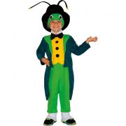 Grillo parlante costume 2/3 anni