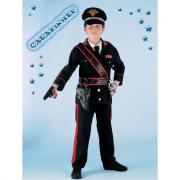 Carabiniere costume 7/8 anni