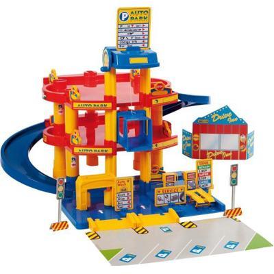 Garage auto park 3 piani giochi giocattoli for 2 piani di garage per auto 3 piani