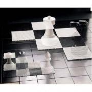 Scacchiera per dama-scacchi giganti piccoli