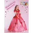 Costume Principessa Delle Rose tg. 3/4 anni