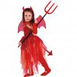 Devil girl costume 7/8 anni
