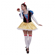 Snow white costume tg.M