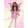 Costume Magic Fairy rosa tg. 7/9 anni