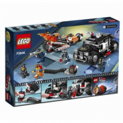 70808 Lego Movie - Inseguimento sulla Super Cycle 6-12 anni