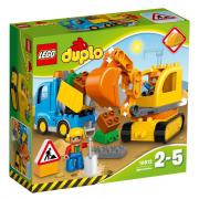 Lego 10812 Camion e scavatrice cingolata
