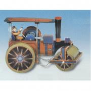 Locomotiva in latta a carica