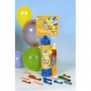 Pompa con 8 palloncini